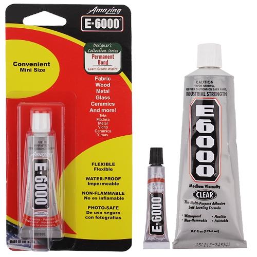 치약글루 E-6000 5ml / 15ml / 110ml (옵션선택)