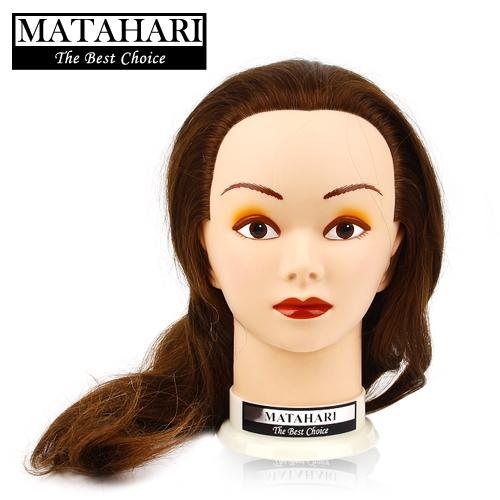 마타하리 연습용 100% 인모 가발