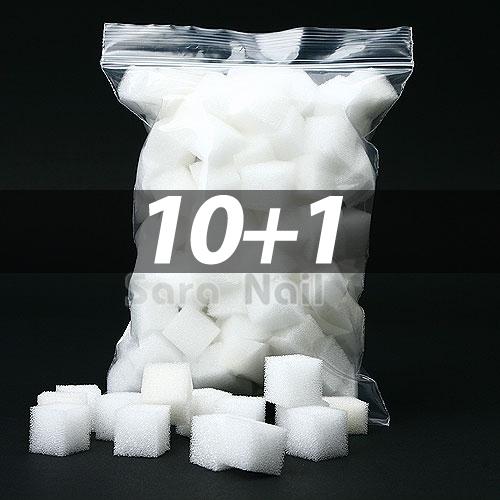 [10+1] 스폰지 그라데이션 솜 10개세트