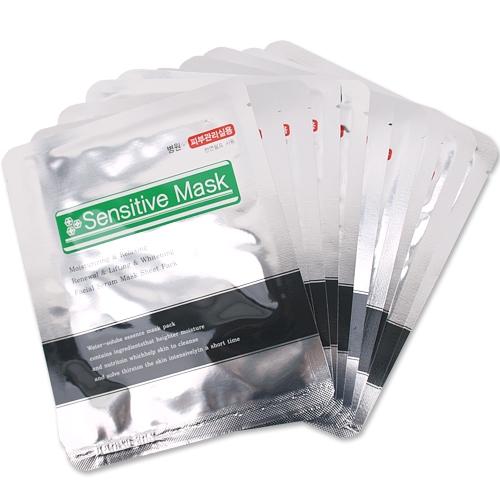 [한방미인] 민감성 마스크팩(Senstive Mask Pack) 10p