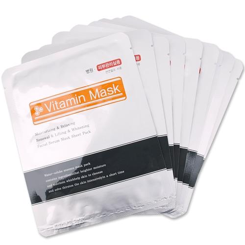 [한방미인] 비타민 마스크팩(Vitamin Mask Pack) 10p