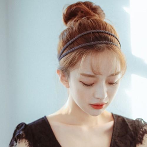[핑크에이지] [핑크에이지] 만두머리 큰 사이즈 (렉스원사)