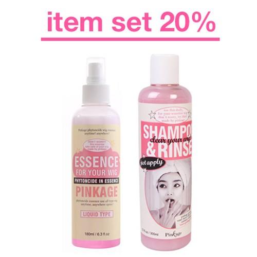[핑크에이지] [핑크에이지] 에센스+샴푸린스세트(20%)