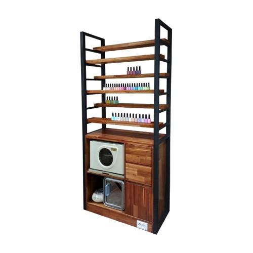 [윈텍] [윈택] 아더진열장 - open 아더 시리즈 선반 6EA / 옵션 추가구매 가능 2구 콘센트 부착
