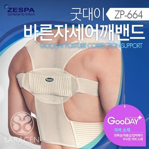 [제스파] 굿대이 바른자세 어깨밴드 ZP664