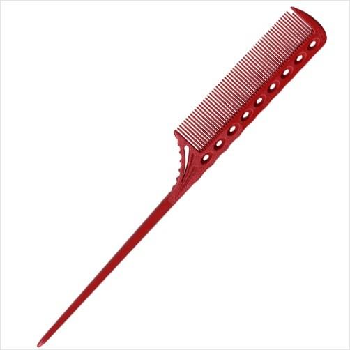 [와이에스박] 꼬리빗 (Tail Combs) YS 107 red 218mm