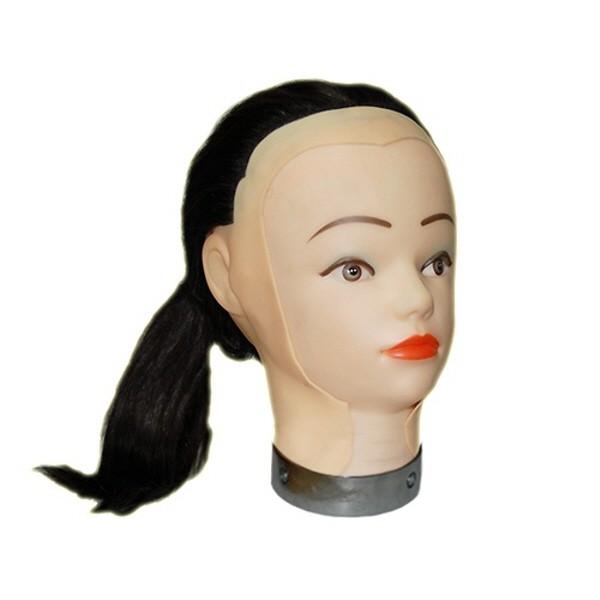 18인치 연습용 고급인모(100%인모) 가발