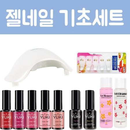 [유키] 젤네일세트 홈쇼핑 구성 키트 패키지 2탄