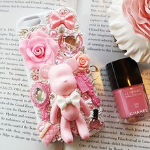 [러브미러브미] 핑크톡톡 핸드폰 케이스