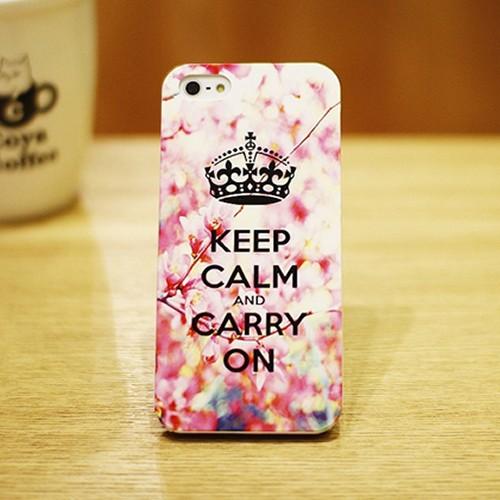 [러브미러브미] 벚꽃 왕관 핑크 디자인 폰 케이스
