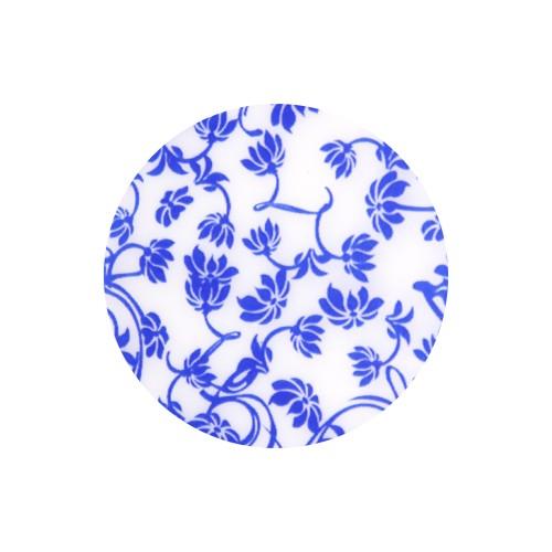 [뷰랩] (1+1)네일 호일 67네이비 꽃