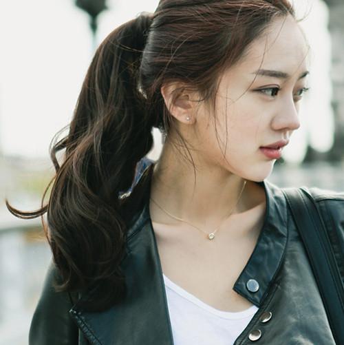 [핑크에이지] 롤링 포니테일 마리앙로즈 슈프림원사