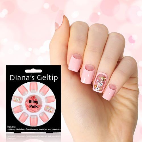 [다이애나 젤팁] 블링 핑크