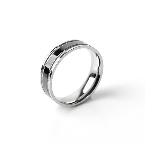 [글로리 아덴] 써지컬스틸 반지 / GBSR - 012 / 6 Size