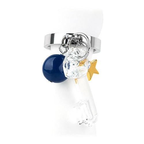 [글로리 아덴] 핸드메이드 크리스탈 KEY 반지 / GHMR-015