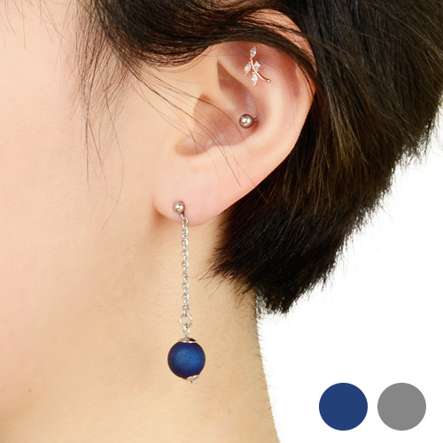 [글로리 아덴] 데일리 원석 드롭 귀걸이 2 Color / GHME-045