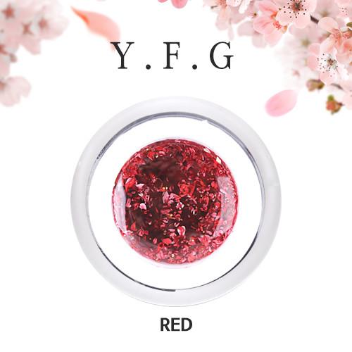 (1+1)[와이에프지] 플라워젤 Red 5g