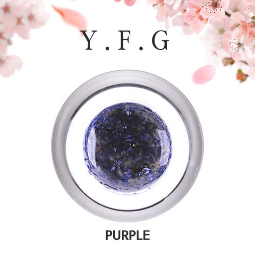 (1+1)[와이에프지] 플라워젤 Purple 5g