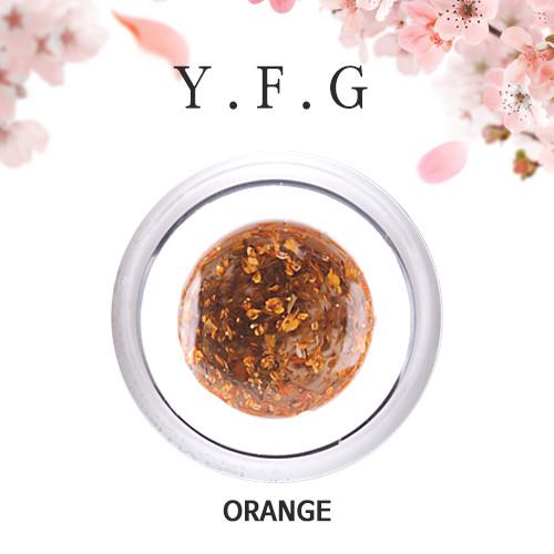 (1+1)[와이에프지] 플라워젤 Orange 5g