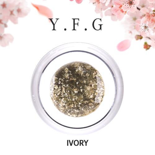(1+1)[와이에프지] 플라워젤 Ivory 5g