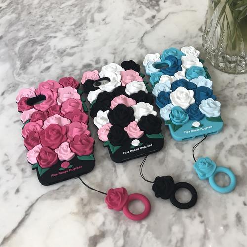 [러브미러브미] 장미 꽃다발케이스