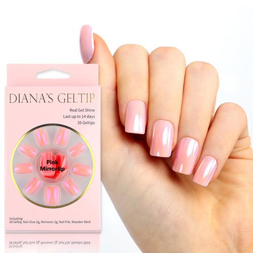 [다이애나 젤팁] 핑크 미러팁 (Pink Mirrortip)