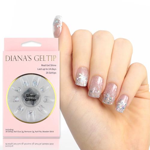 [다이애나 젤팁] 실버 글리터 (Silver Glitter)